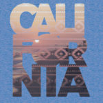 california photo text