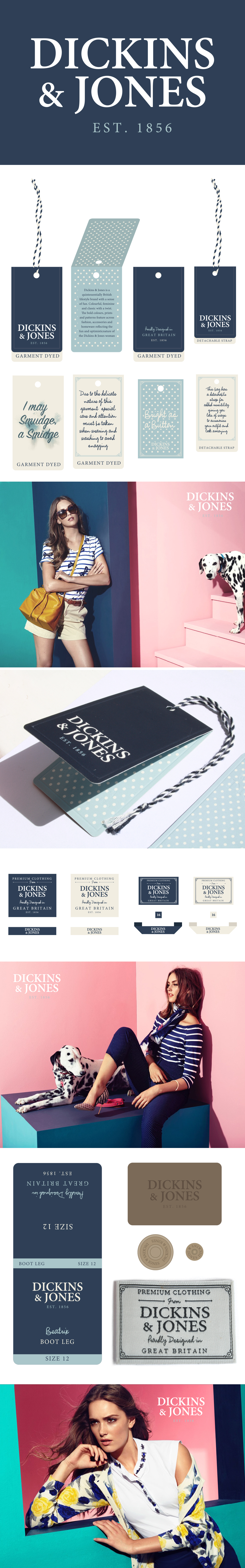 dickins & jones branding long