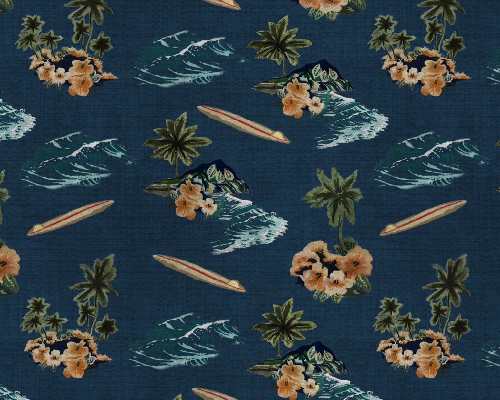 hawiian repeat pattern 5 repeat