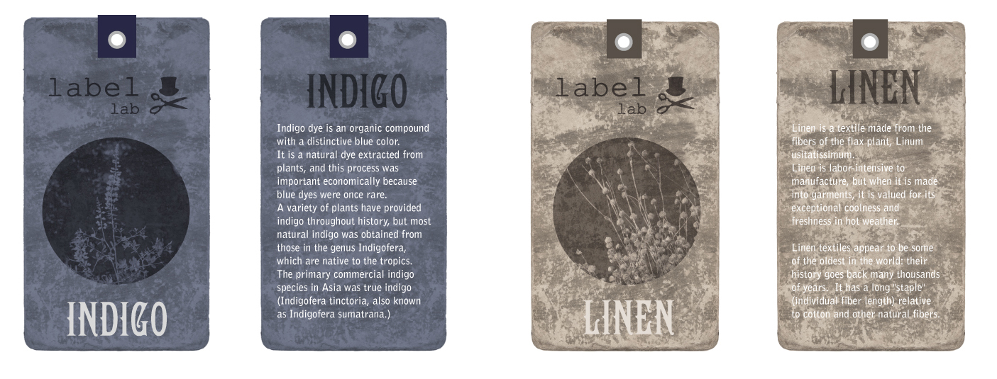 indigo and linen swingers