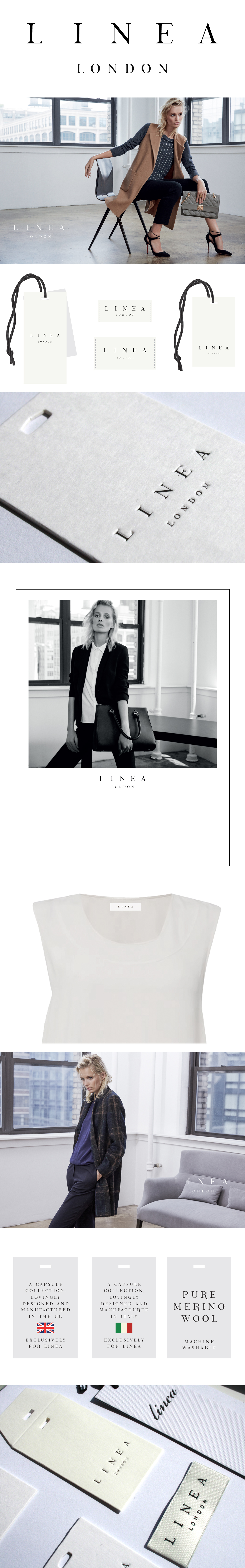 linea womens branding long
